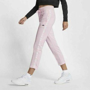 NIKE Women's Pink Embroidered Logo Pants (NWT)